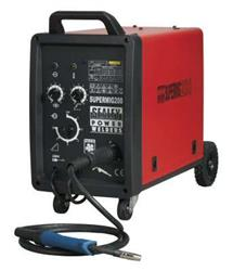 Sealey SUPERMIG200 - Professional MIG Welder 200Amp 230V with Binzel® Euro Torch