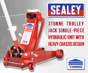 Sealey 3000CXD - Trolley Jack 3tonne Standard Chassis