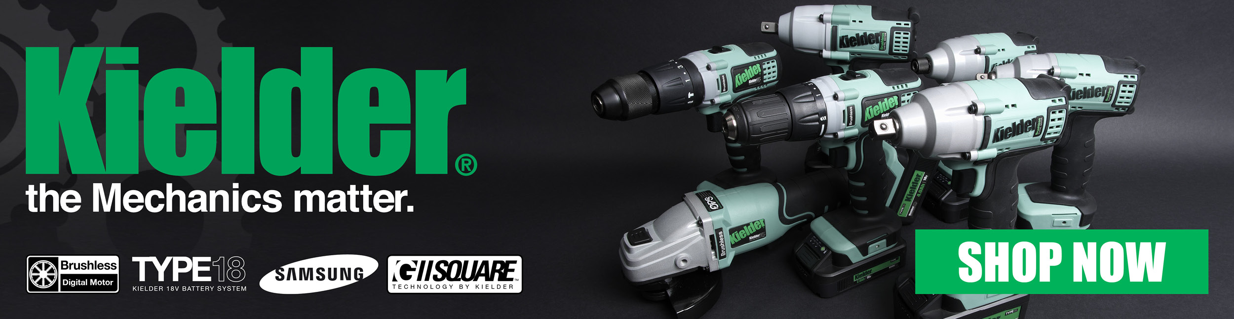 Kielder Cordless Power Tools