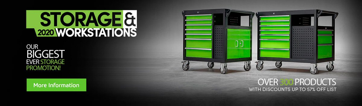 Sealey Storage & Workstation Promotion May 2020